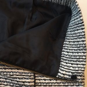 H&M Skirts - Black and white pencil skirt